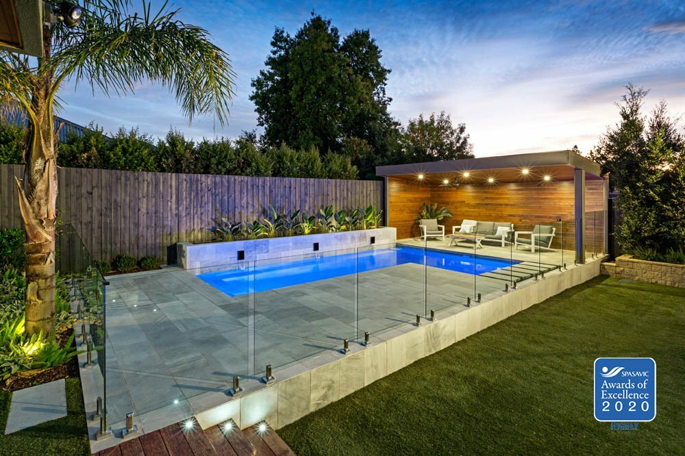 Gold Award Winning Pool Design and Construction by Striking Pools Melbourne